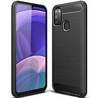 Чехол-накладка Half-TPU Black Case Samsung Galaxy M21