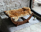 КІТ-ПЕС by smartwood Лежанка для кошки кота Лежак для кошки кота Спальное место, фото 3