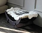 КІТ-ПЕС by smartwood Лежанка для кошки кота Лежак для кошки кота Спальное место, фото 4