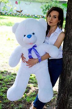 Плюшевий ведмедик Бант 110 см Білий