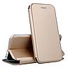 Чехол книжка для Apple Iphone 5 (золотой)