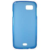 Чохол Colored Silicone для Fly IQ4411 Quad Energie 2 Blue