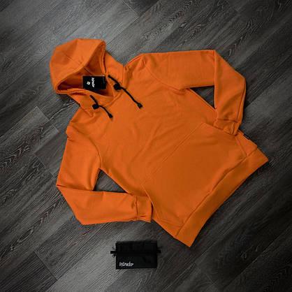 Худи Мужское Intruder 'Bars' оранжевое + Подарок, фото 3