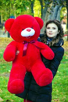 Плюшевий ведмедик Бант 110 см Червоний