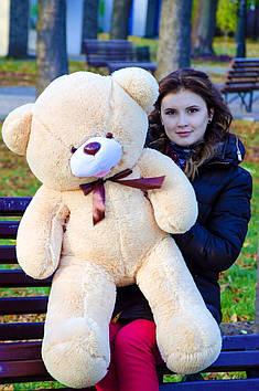 Плюшевий ведмедик Бант 110 см Медовий