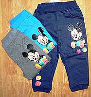 Спортивные брюки с микроначесом для мальчиков Disney, оптом, 62/68-98 рр