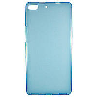 Чохол Colored Silicone для Fly IQ453 Luminor Blue