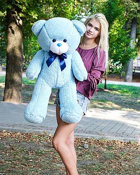 Плюшевий ведмедик Бант 110 см Блакитний