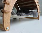 КІТ-ПЕС by smartwood Домик для кошки кота Будка для кошки кота Спальное место, фото 4