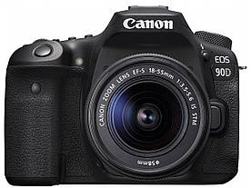 Фотокамера Canon EOS 90D + 18-55 IS STM (3616C030)