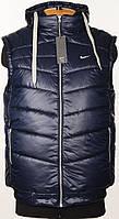 """Зимний,стеганный жилет """"Nike"""" Big series.Купить недорого!!!"""