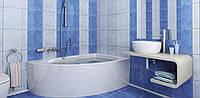Керамическая плитка для стен 333х250х7 мм Опера Голубой 2 Нота Керамика