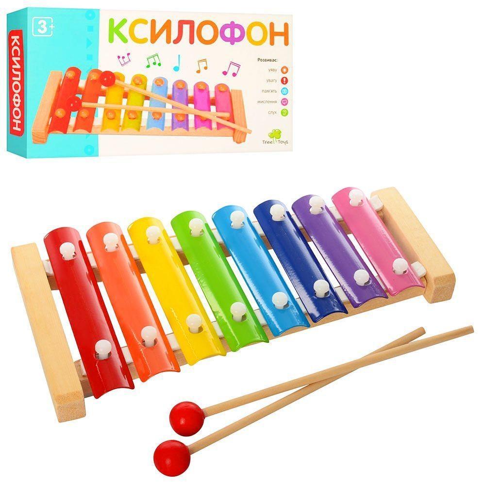 """Деревянная игрушка  """"Ксилофон""""  ( 9199)"""
