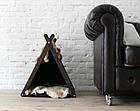 КІТ-ПЕС by smartwood Домик для кошки кота Будка для кошки кота Спальное место, фото 6