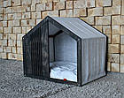 КІТ-ПЕС by smartwood Домик для кошки кота Будка для кошки кота Спальное место, фото 3