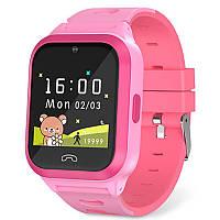 Smart часы детские Havit HV-KW02 смарт для девочки розовые