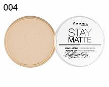 Матирующая пудра от Rimmel Stay Matte 004 Sandstorm