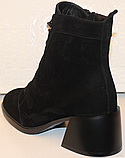 Ботинки женские замшевые от производителя модель КС1537, фото 4