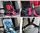 Детское Автокресло беcкаркасное Розовое Multi-Function Car Cushion + Подарок!, фото 8
