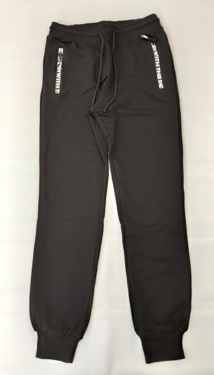 Спортивные штаны на мальчиков ENCORE черные 158,164,170 роста