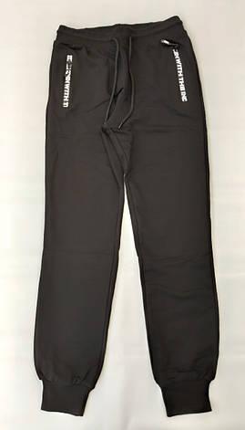 Спортивные штаны на мальчиков ENCORE черные 158,164,170 роста, фото 2