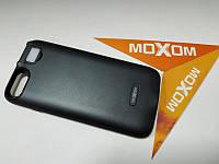 Чехол-аккумулятор Moxom для iPhone 7/8 3000 мА/ч с дополнительной встроенной вспышкой Черный (1575)