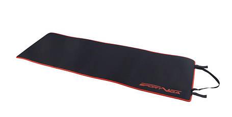 Килимок (мат) для йоги та фітнесу SportVida Neopren 6 мм SV-HK0037 Black, фото 2