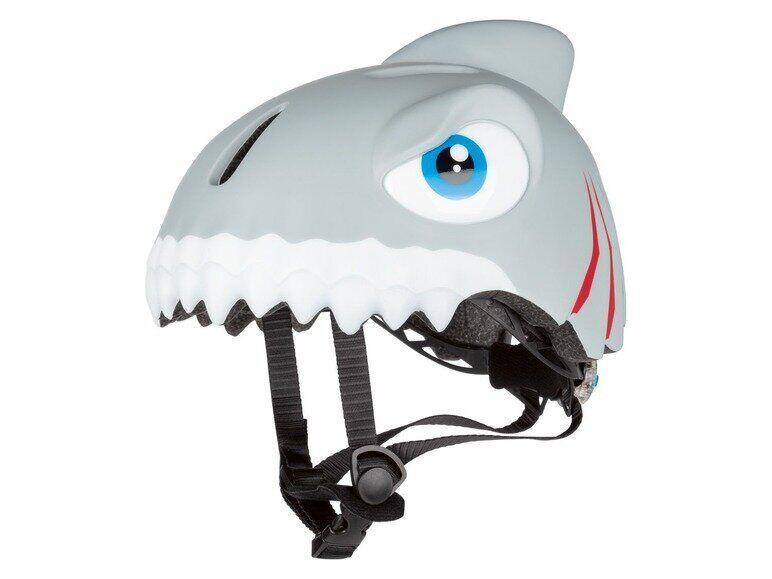 Детский шлем Crazy Safety Акула - Шлемы детские для роликов, самоката, велосипеда