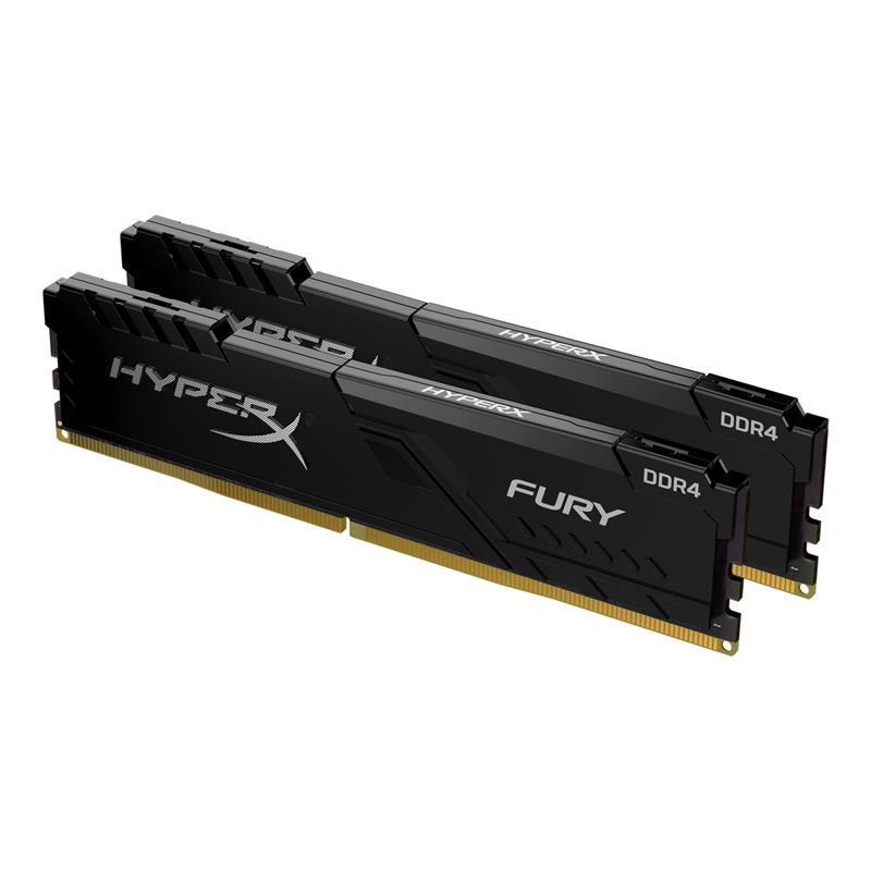 Пам'ять до ПК Kingston DDR4 3600 32GB KIT (16GBx2) HyperX Fury Black