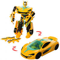 Робот трансформер JQ6105, интерактивная развивающая игрушка для мальчиков Royaltoys