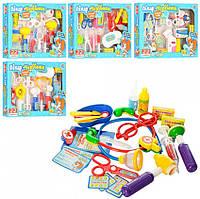 Игровой набор доктора детский M0462U/R/2554, Тематические игрушки, Игрушки для девочек
