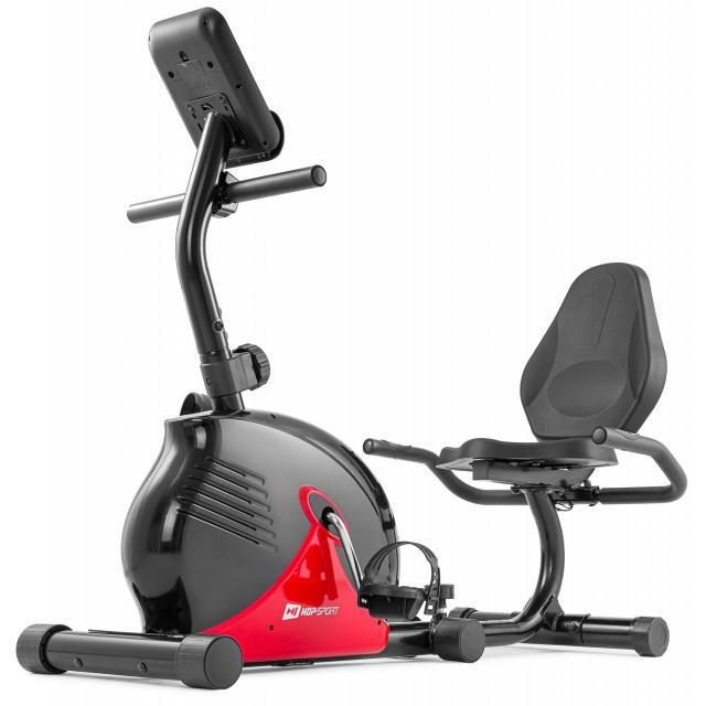 Горизонтальный велотренажер  HS-030L Rapid black/red