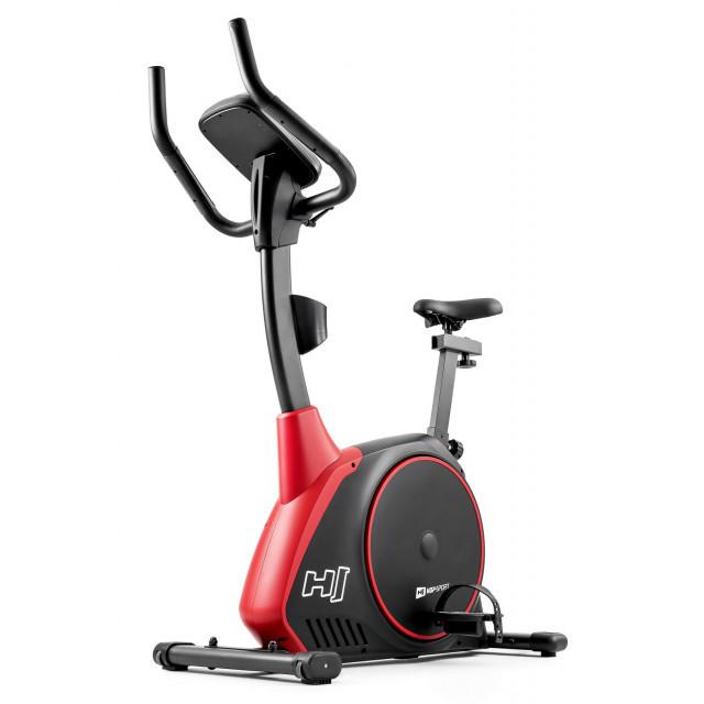 Велотренажер электромагнитный Hop-Sport HS-095H Strike Black+ мат