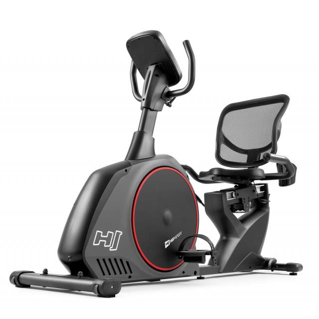 Горизонтальный велотренажер Hop-Sport HS-095L Scale Gray+ мат