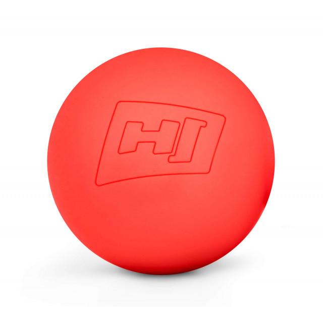 Силіконовий масажний мяч 63 мм HS-S063MB red