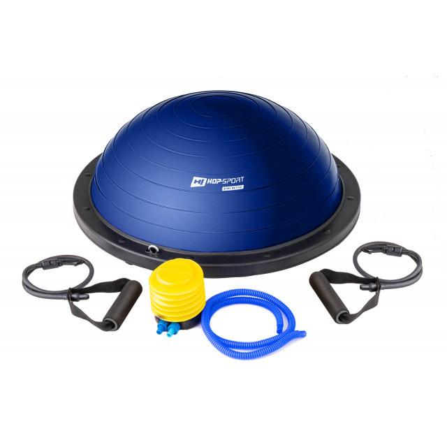 Балансировочная полусфера Hop-Sport Bosu HS-L058 blue