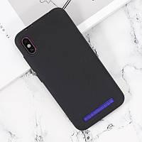 Чехол Soft Line для Leagoo M12 силикон бампер черный