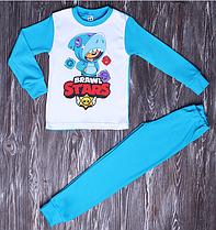 Детские пижамы для мальчика Бравз Страз. 122/128 рост.