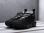 Мужские кроссовки Nike LeBron XVI ALL BLACK (черные) KS 1522, фото 3