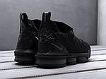 Чоловічі кросівки Nike LeBron XVI ALL BLACK (чорні) KS 1522, фото 2