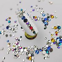 Цветные Камни Swarovski Микс Global Fashion 1440 шт для маникюра