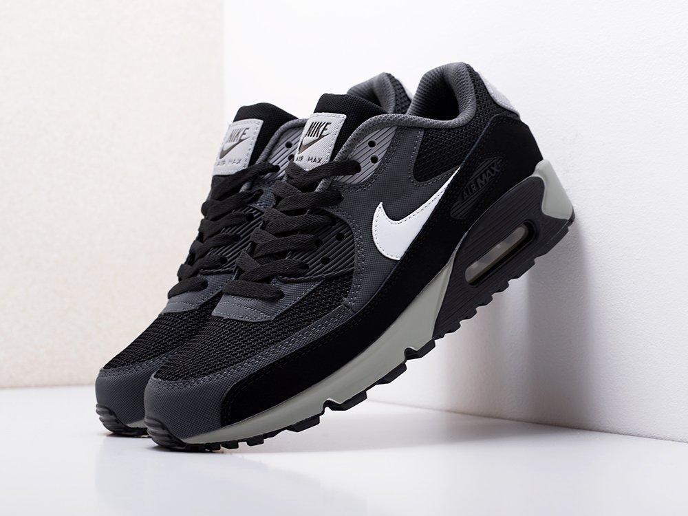 Чоловічі кросівки Nike Air Max 90 (чорно/сірий) KS 1523