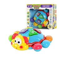 Детская Развивающая Музыкальная игрушка Добрый жук, интерактивная игра для развития мелкой моторики