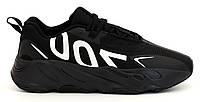 """Мужские Кроссовки Adidas Yeezy 700 VX """"Black White"""" - """"Черные Белые"""", фото 1"""