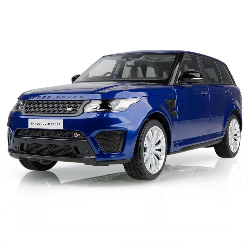 Модель автомобіля Range Rover Sport SVR, Scale 1:18, Blue, артикул LDDC968PUW
