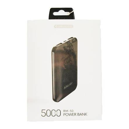 Універсальна мобільна батарея Jellico RM-50 5000mAh, Black, фото 2