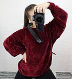 Женская кофта с рукавом летучая мышь, фото 3