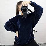 Женская кофта с рукавом летучая мышь, фото 4