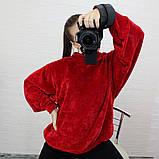 Женская кофта с рукавом летучая мышь, фото 7