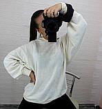 Женская кофта с рукавом летучая мышь, фото 8